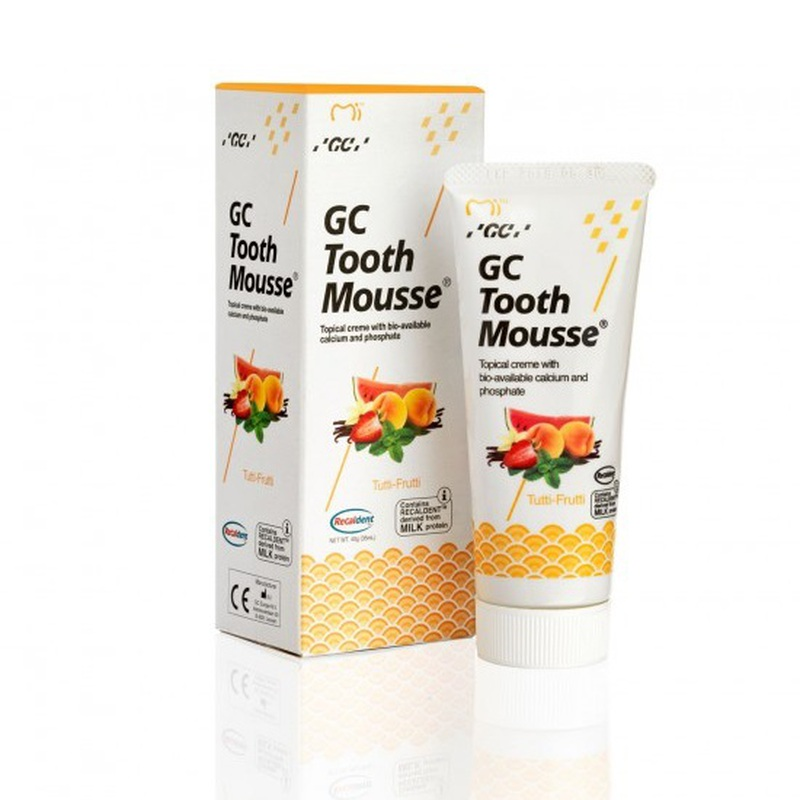 tooth mousse tutti frutti tube