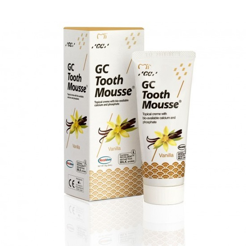 tooth mousse vanille 1 tube 40 gr