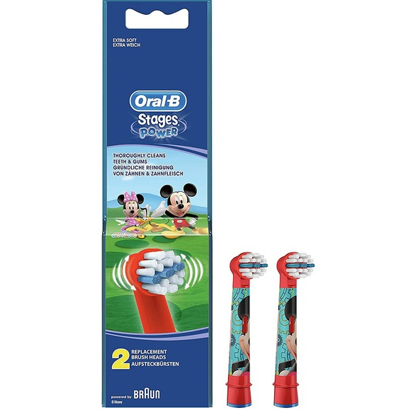 oral-b kids mickey eb10-2 opzetborstels