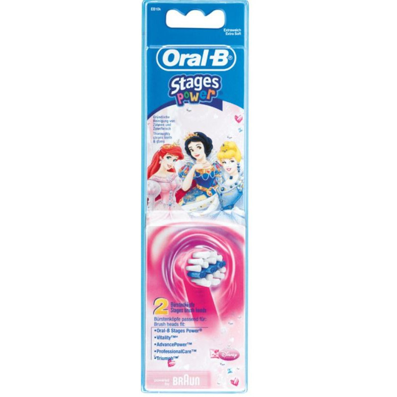 oral-b kids princess eb10-2 opzetborstels