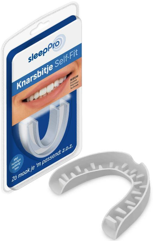 sleeppro knarsbitje self-fit