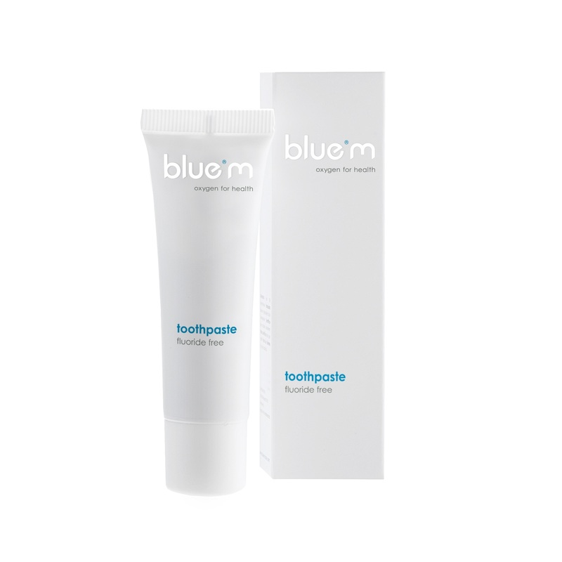 bluem tandpasta fluoridevrije sample