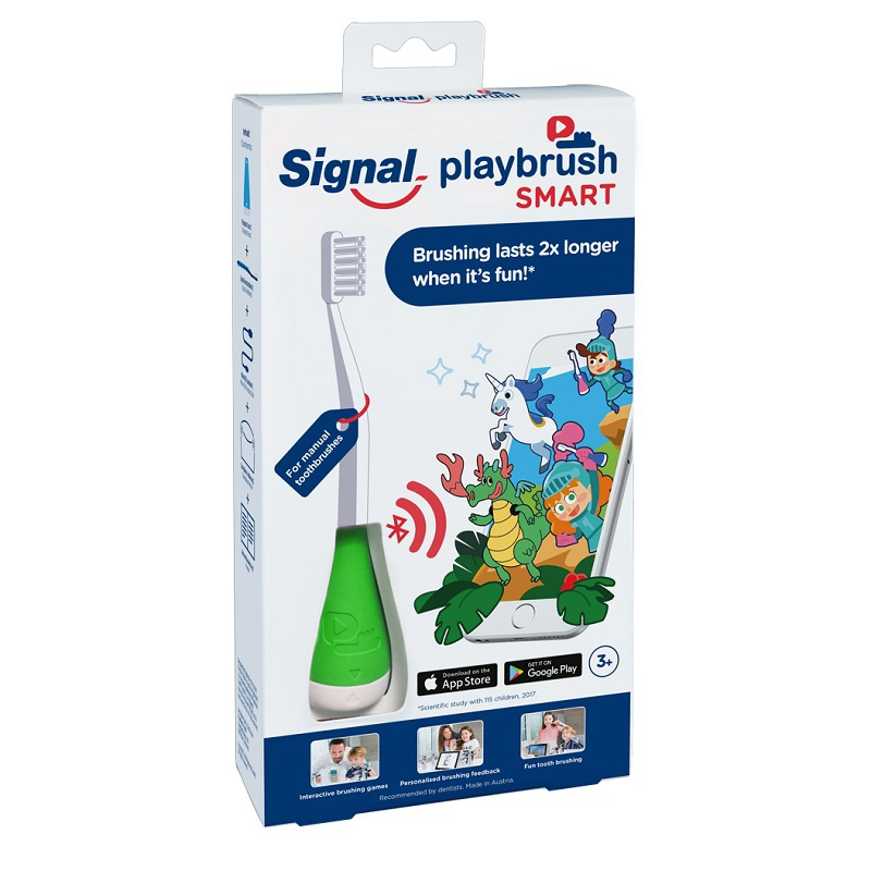 playbrush smart green / 3-8 jaar