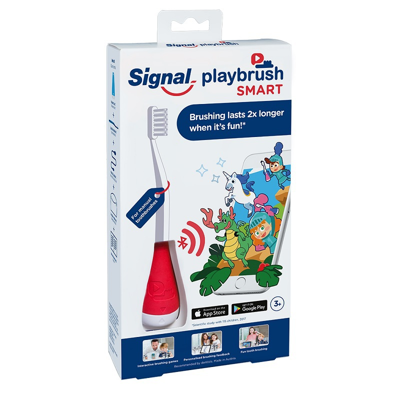 playbrush smart red / 3-8 jaar